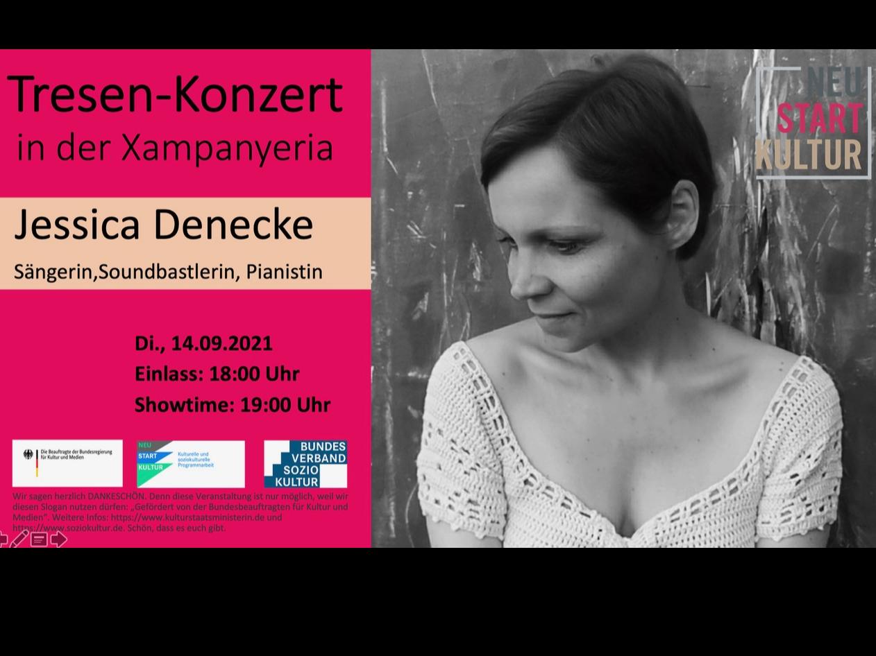 Tresen-Konzert mit Jessica Denecke