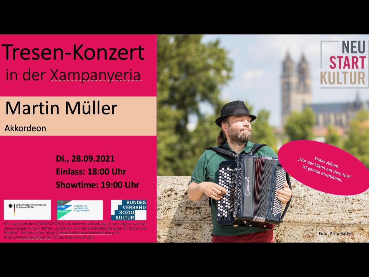 Tresen-Konzert mit Martin Müller